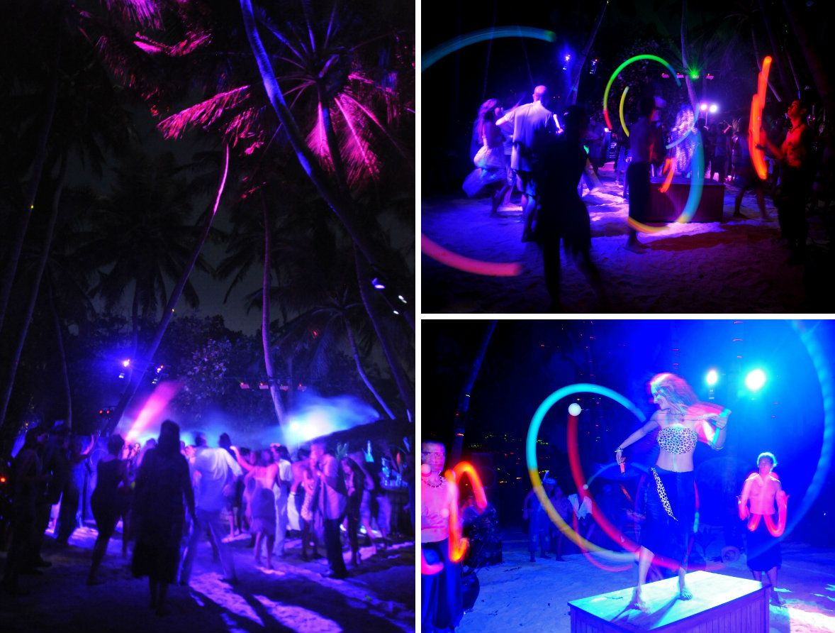 jungle themed wedding event maldives 8