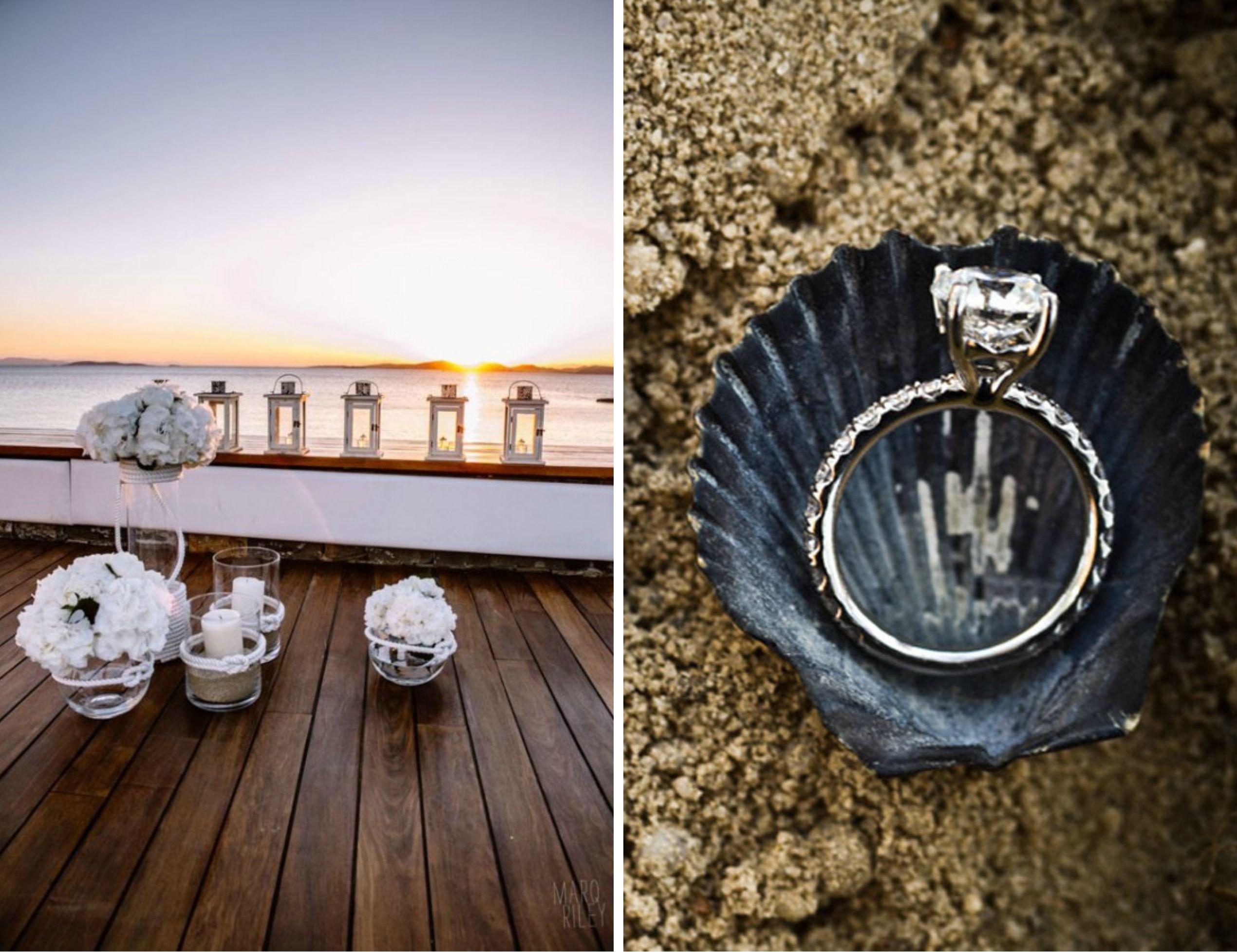 nautical chic wedding theme 16
