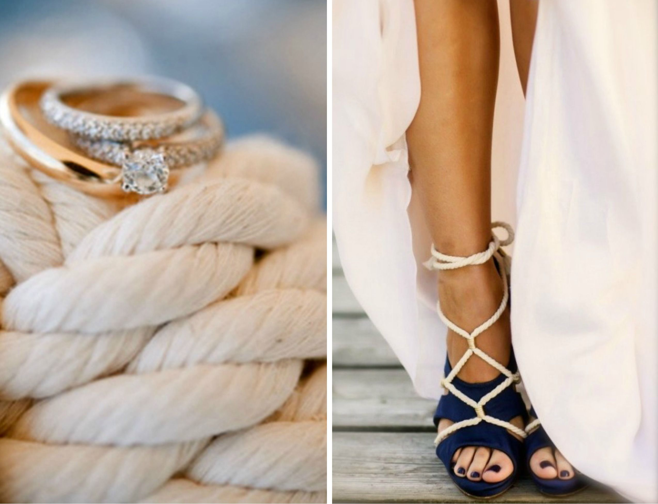 nautical chic wedding theme 17