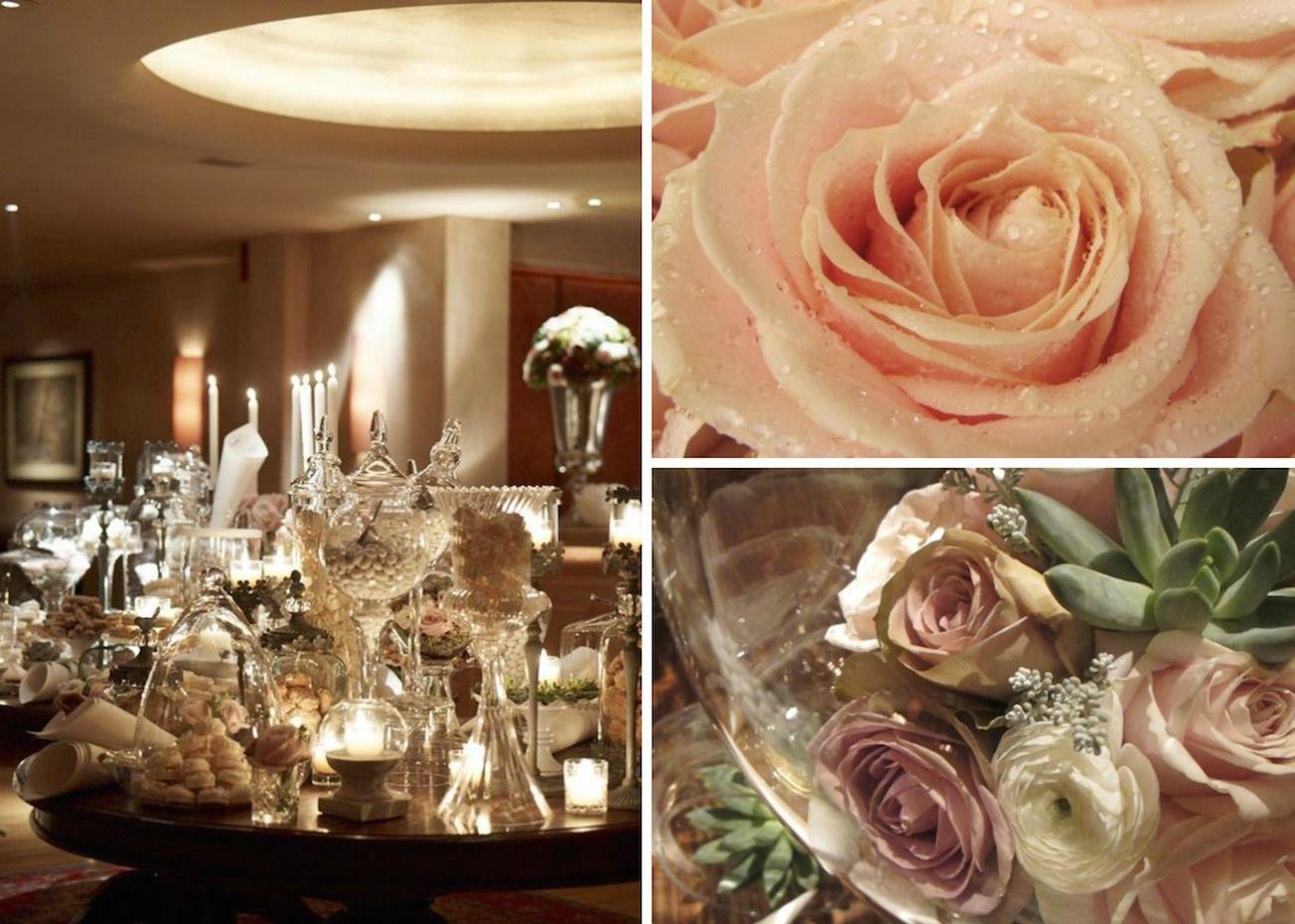 romantic vintage wedding- christmas wedding decoration-parisian style 10