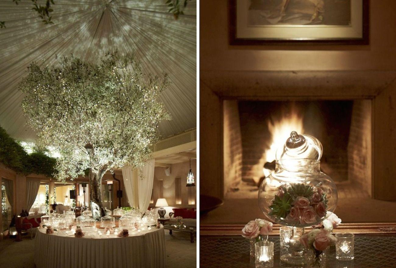 romantic vintage wedding- christmas wedding decoration-parisian style 15