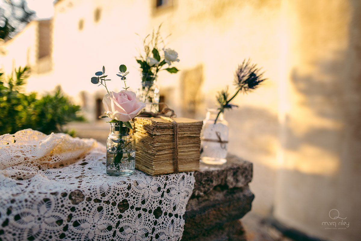 vintage wedding in greece