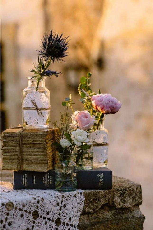 vintage wedding in greece