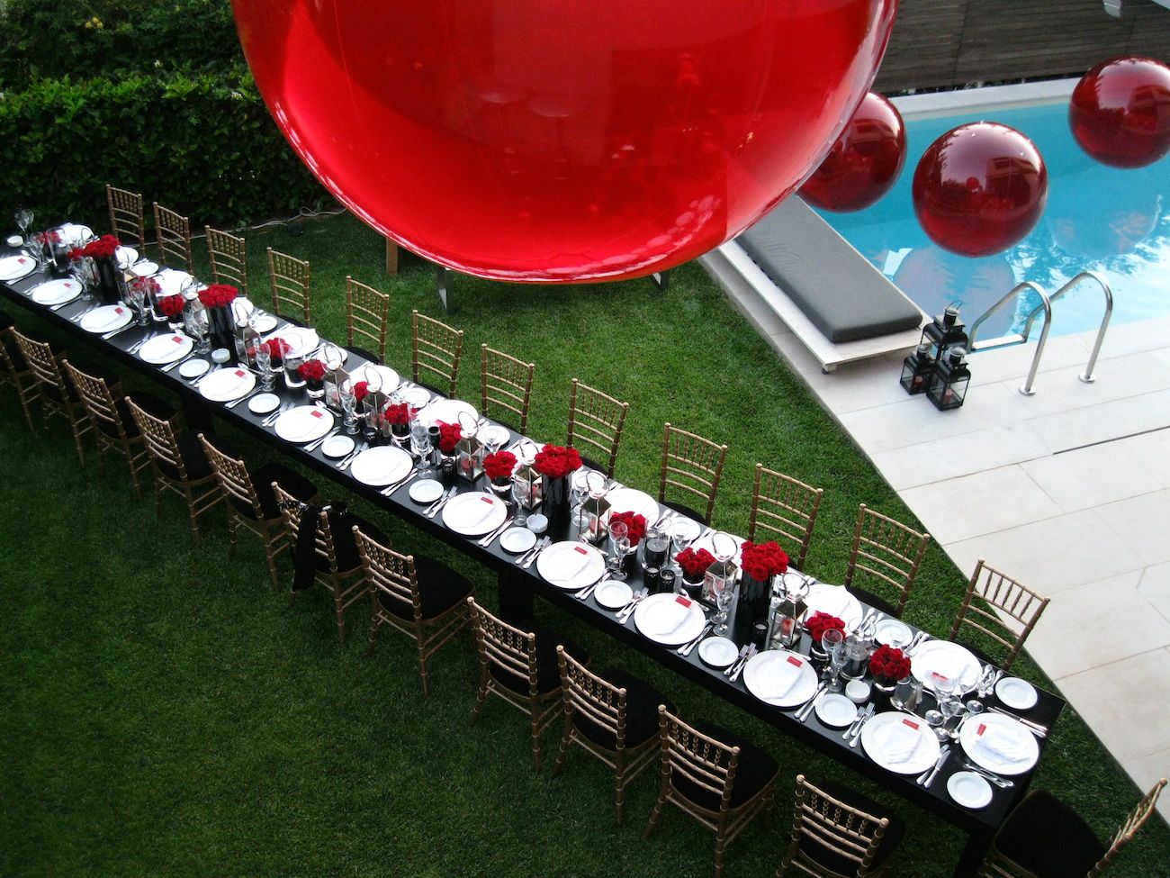 bachelorette party red theme