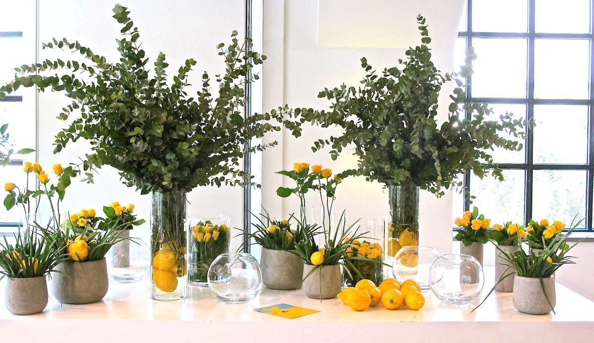 charity event-hub events-lemon tree decoration 1