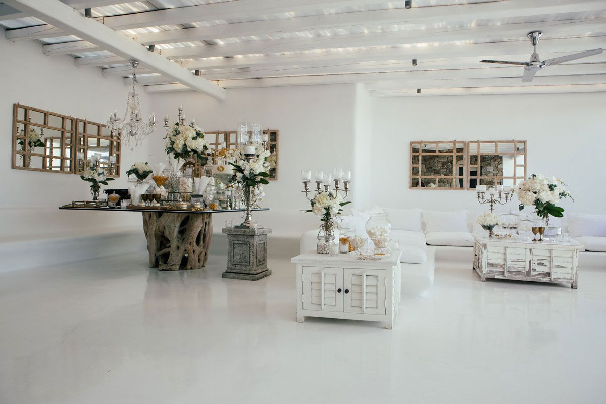sara-manei-artur-boruc-wedding-gold-white-dress-flowers-elegant-luxury-event-planning-villa-mykonos-greece