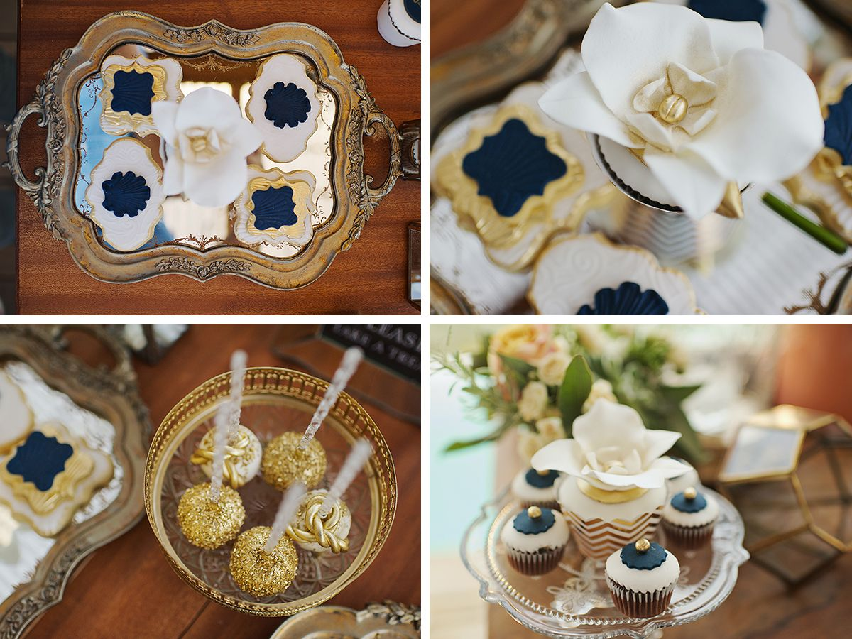 vintage_nautical_wedding_athens_blue_gold_cakes_dessert_table_bisquits_deplanv