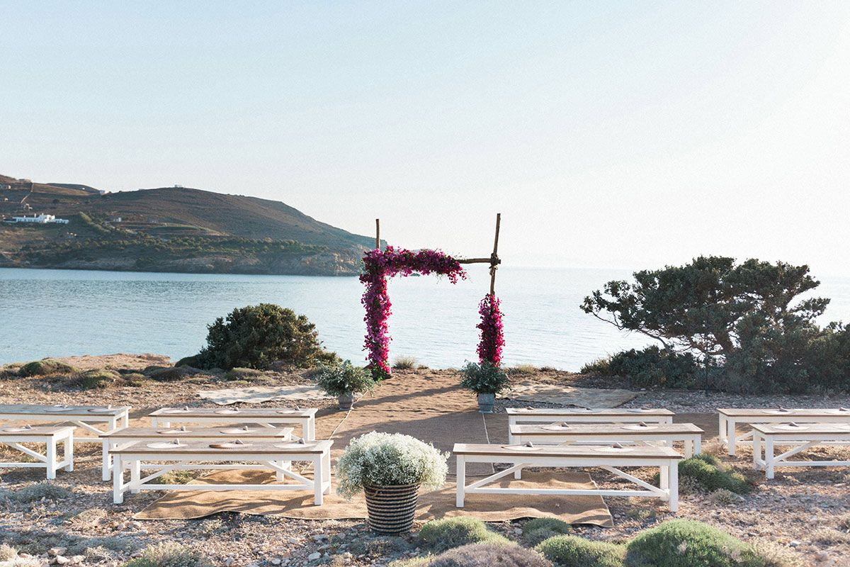 luxury weddings in greek island