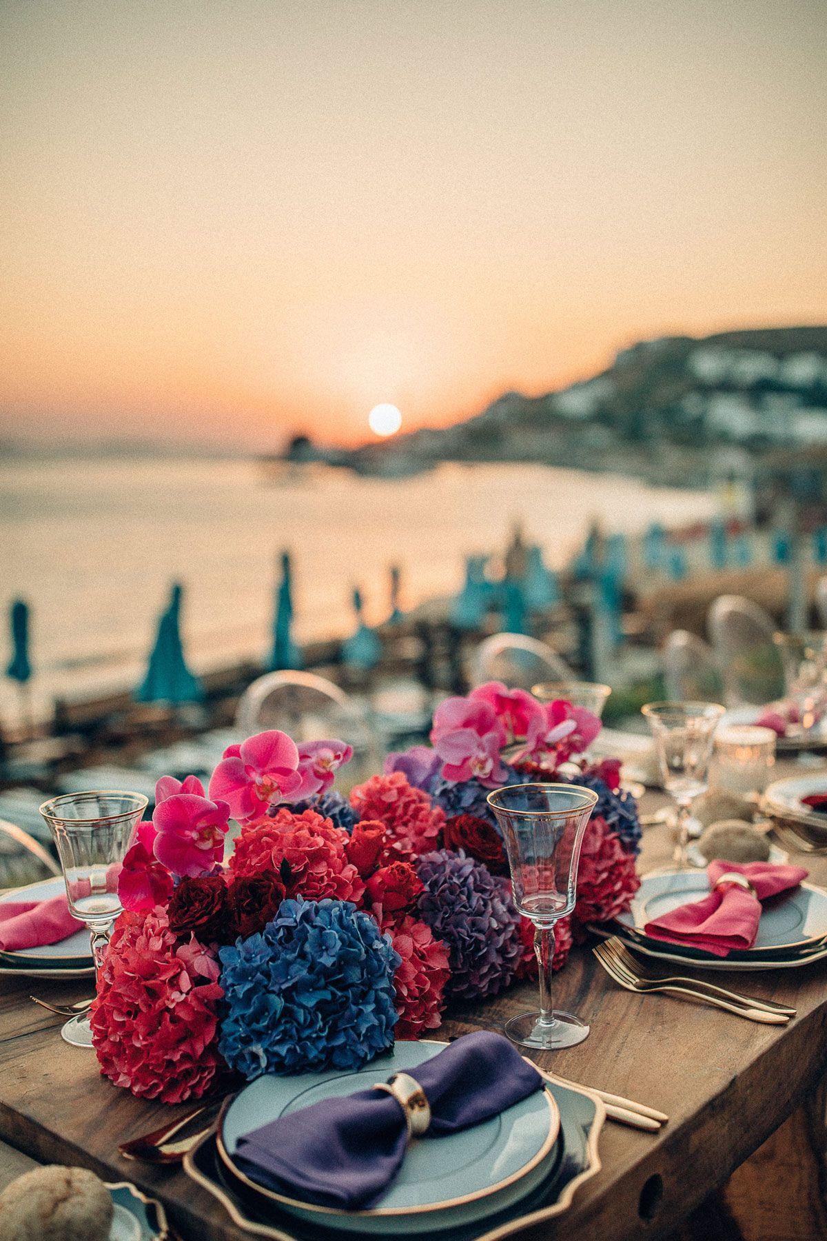 80s wedding party in mykonos